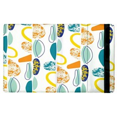 Pebbles Texture Mid Century Apple Ipad 2 Flip Case by Mariart