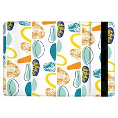 Pebbles Texture Mid Century Ipad Air Flip by Mariart