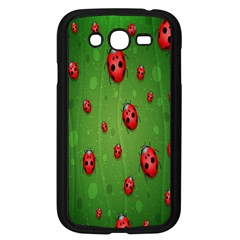 Ladybugs Red Leaf Green Polka Animals Insect Samsung Galaxy Grand Duos I9082 Case (black) by Mariart