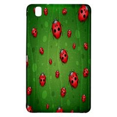 Ladybugs Red Leaf Green Polka Animals Insect Samsung Galaxy Tab Pro 8 4 Hardshell Case by Mariart