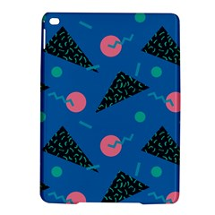 Seamless Triangle Circle Blue Waves Pink Ipad Air 2 Hardshell Cases by Mariart