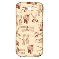 Sheep Goats Paper Scissors Samsung Galaxy S3 S Iii Classic Hardshell Back Case by Mariart