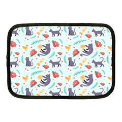 Redbubble Animals Cat Bird Flower Floral Leaf Fish Netbook Case (medium)  by Mariart