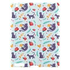 Redbubble Animals Cat Bird Flower Floral Leaf Fish Apple Ipad 3/4 Hardshell Case by Mariart