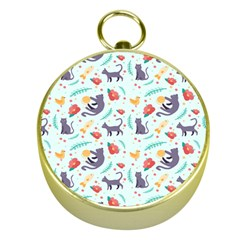 Redbubble Animals Cat Bird Flower Floral Leaf Fish Gold Compasses