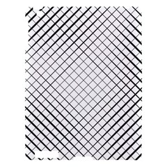 Simple Pattern Waves Plaid Black White Apple Ipad 3/4 Hardshell Case by Mariart