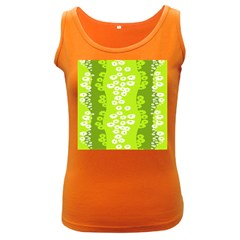 Sunflower Green Women s Dark Tank Top