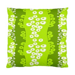 Sunflower Green Standard Cushion Case (two Sides)