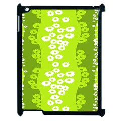 Sunflower Green Apple Ipad 2 Case (black) by Mariart