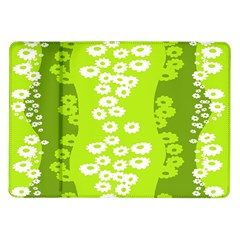 Sunflower Green Samsung Galaxy Tab 10 1  P7500 Flip Case by Mariart