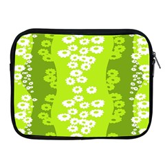 Sunflower Green Apple Ipad 2/3/4 Zipper Cases by Mariart