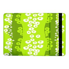 Sunflower Green Samsung Galaxy Tab Pro 10 1  Flip Case by Mariart