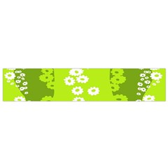 Sunflower Green Flano Scarf (small) by Mariart