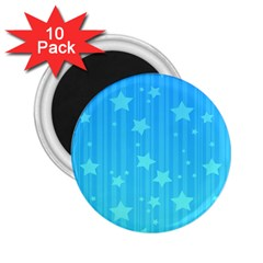 Star Blue Sky Space Line Vertical Light 2 25  Magnets (10 Pack)  by Mariart