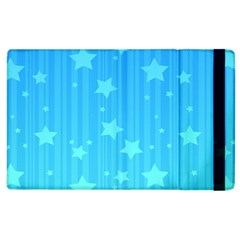 Star Blue Sky Space Line Vertical Light Apple Ipad 3/4 Flip Case by Mariart