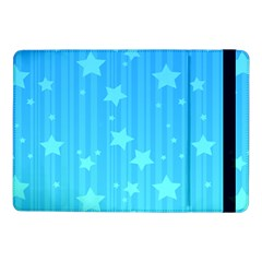 Star Blue Sky Space Line Vertical Light Samsung Galaxy Tab Pro 10 1  Flip Case by Mariart