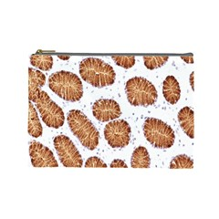 Formalin Paraffin Human Stomach Stained Bacteria Brown Cosmetic Bag (large)  by Mariart