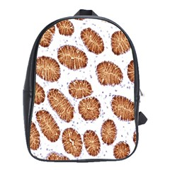Formalin Paraffin Human Stomach Stained Bacteria Brown School Bags(large)