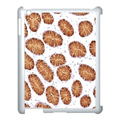 Formalin Paraffin Human Stomach Stained Bacteria Brown Apple Ipad 3/4 Case (white) by Mariart