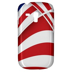 American Flag Star Blue Line Red White Galaxy S3 Mini by Mariart