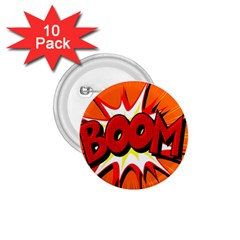 Boom Sale Orange 1 75  Buttons (10 Pack) by Mariart
