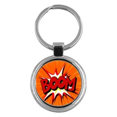 Boom Sale Orange Key Chains (round)  by Mariart