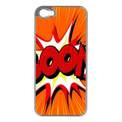 Boom Sale Orange Apple Iphone 5 Case (silver) by Mariart