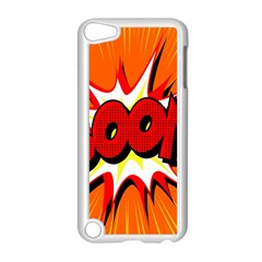 Boom Sale Orange Apple Ipod Touch 5 Case (white) by Mariart