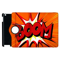 Boom Sale Orange Apple Ipad 3/4 Flip 360 Case by Mariart