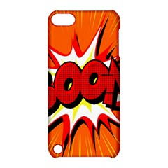 Boom Sale Orange Apple Ipod Touch 5 Hardshell Case With Stand by Mariart