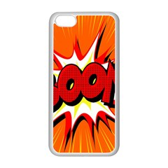 Boom Sale Orange Apple Iphone 5c Seamless Case (white) by Mariart