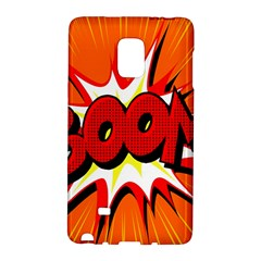 Boom Sale Orange Galaxy Note Edge by Mariart