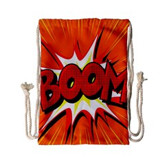 Boom Sale Orange Drawstring Bag (small) by Mariart