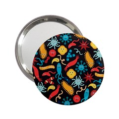 Worm Insect Bacteria Monster 2 25  Handbag Mirrors by Mariart