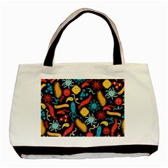 Worm Insect Bacteria Monster Basic Tote Bag