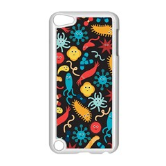 Worm Insect Bacteria Monster Apple Ipod Touch 5 Case (white) by Mariart