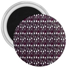 Circles Dots Background Texture 3  Magnets by Mariart