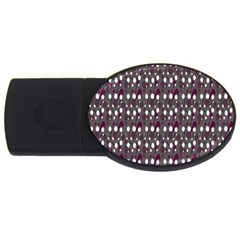 Circles Dots Background Texture Usb Flash Drive Oval (4 Gb) by Mariart