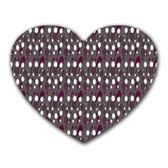 Circles Dots Background Texture Heart Mousepads by Mariart