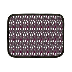 Circles Dots Background Texture Netbook Case (small)