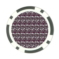Circles Dots Background Texture Poker Chip Card Guard (10 Pack) by Mariart