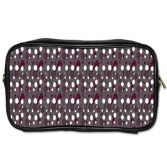 Circles Dots Background Texture Toiletries Bags
