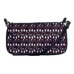 Circles Dots Background Texture Shoulder Clutch Bags by Mariart
