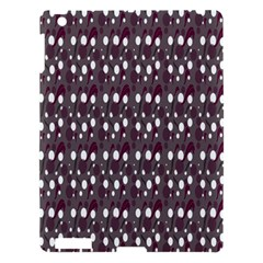 Circles Dots Background Texture Apple Ipad 3/4 Hardshell Case by Mariart