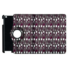Circles Dots Background Texture Apple Ipad 2 Flip 360 Case by Mariart
