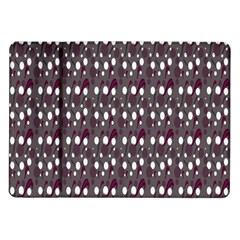 Circles Dots Background Texture Samsung Galaxy Tab 10 1  P7500 Flip Case by Mariart