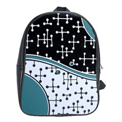 Decoboom Custom Pickguard Engraved Eames Dots School Bags(large)