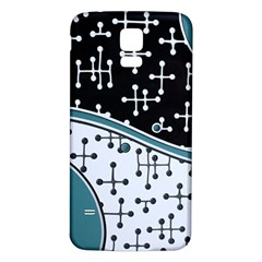 Decoboom Custom Pickguard Engraved Eames Dots Samsung Galaxy S5 Back Case (white) by Mariart