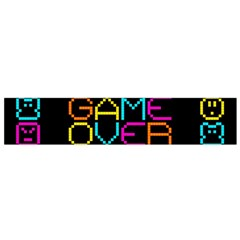 Game Face Mask Sign Flano Scarf (small) by Mariart