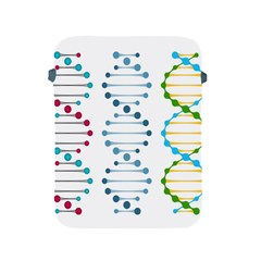 Genetic Dna Blood Flow Cells Apple Ipad 2/3/4 Protective Soft Cases by Mariart